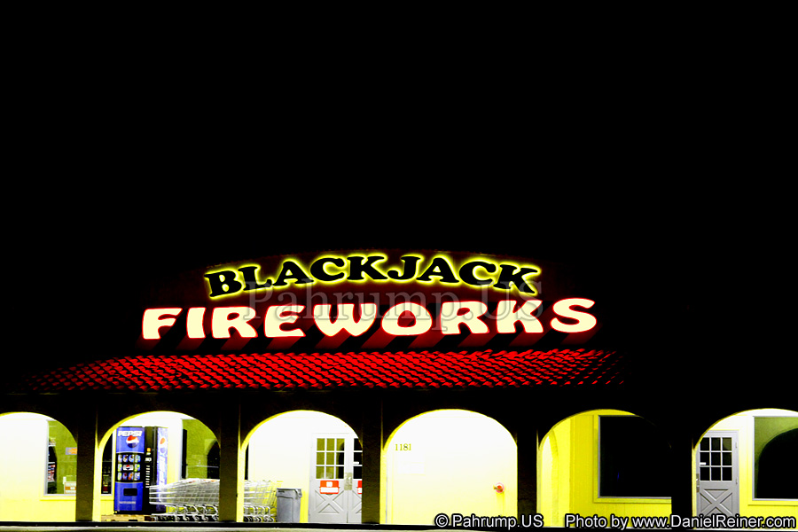 Blackjack Fireworks in Pahrump Nevada