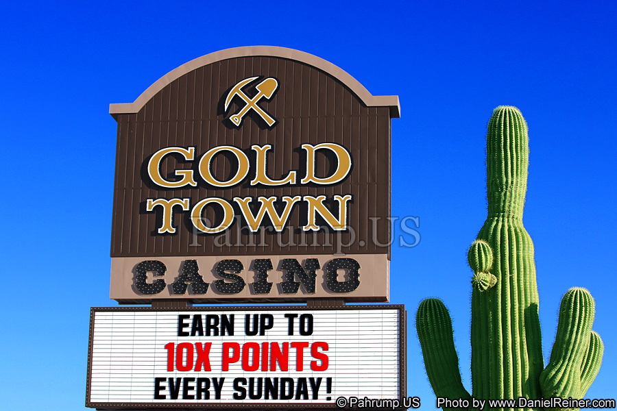 Goldtown Sign in Pahrump