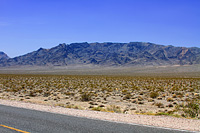 Image of Highway 178 to Pahrump