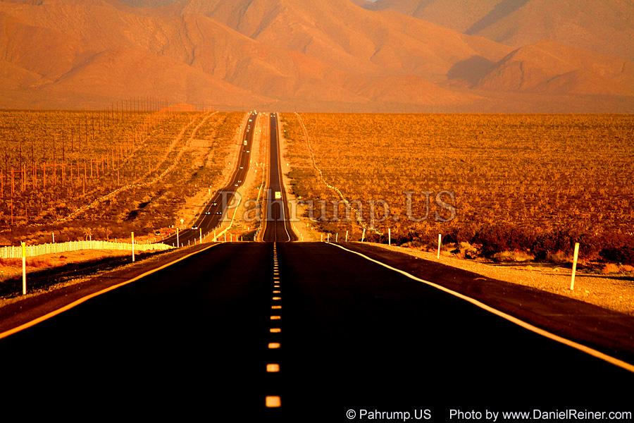Highway 160 near Pahrump