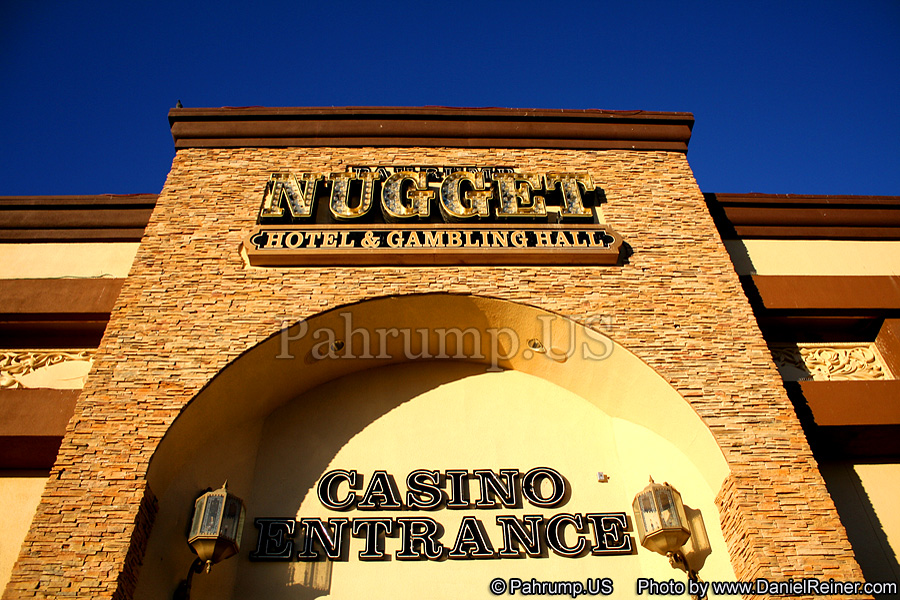 Entrance to the Pahrump Nugget Hotel and Casino