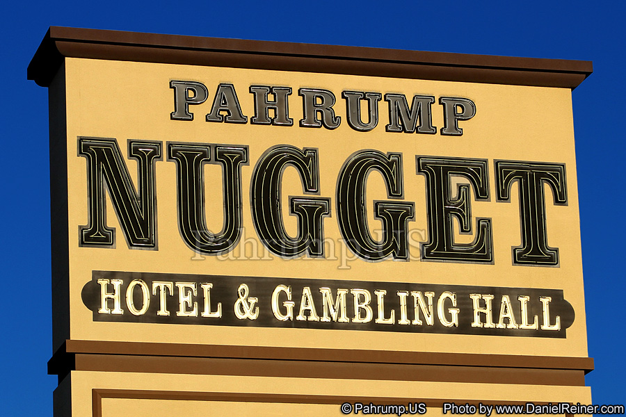 Pahrump Nugget Sign