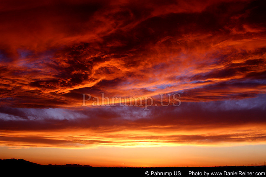 Image of Pahrump Sunset
